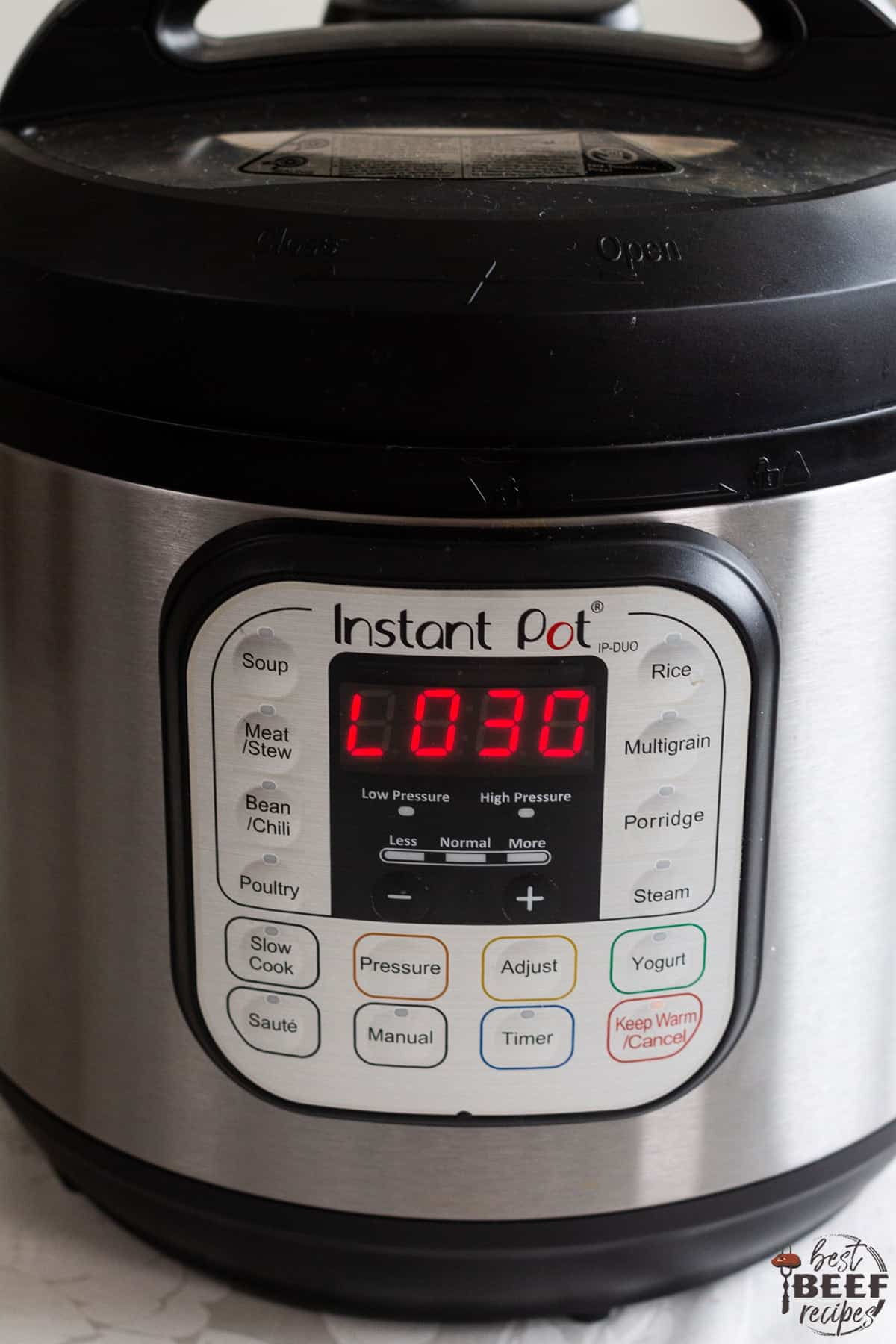 Instant Pot keeping warm for 30 minutes while cooking Instant Pot Prime Rib