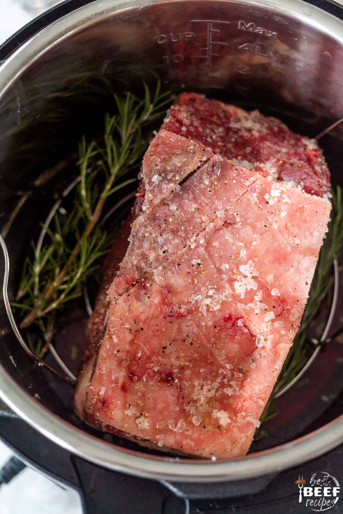 Cooking Instant Pot Prime Rib