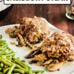 Salisbury Steak Recipe Pin Image