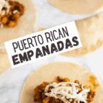 Pastelillos de Carne (Puerto Rican Empanadas) pin image