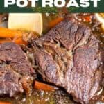 Dutch oven pot roast pin image