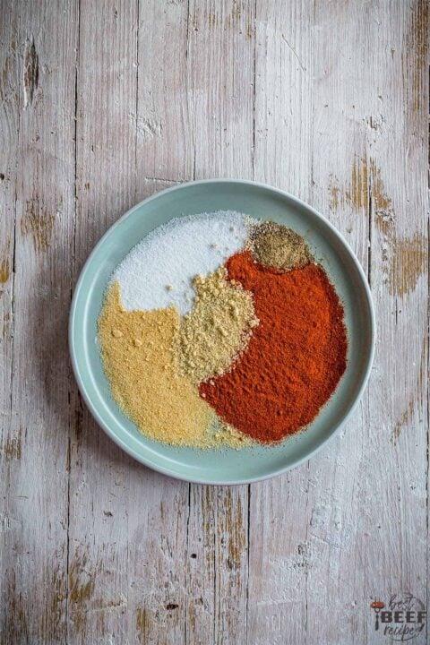 spices to make burger seasoning